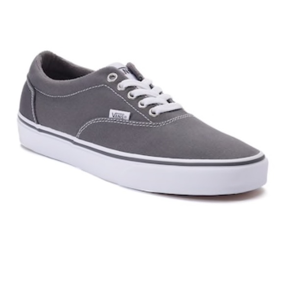 761715096be889 NWOB Vans Doheny Grey Skate Sneakers Shoes 10